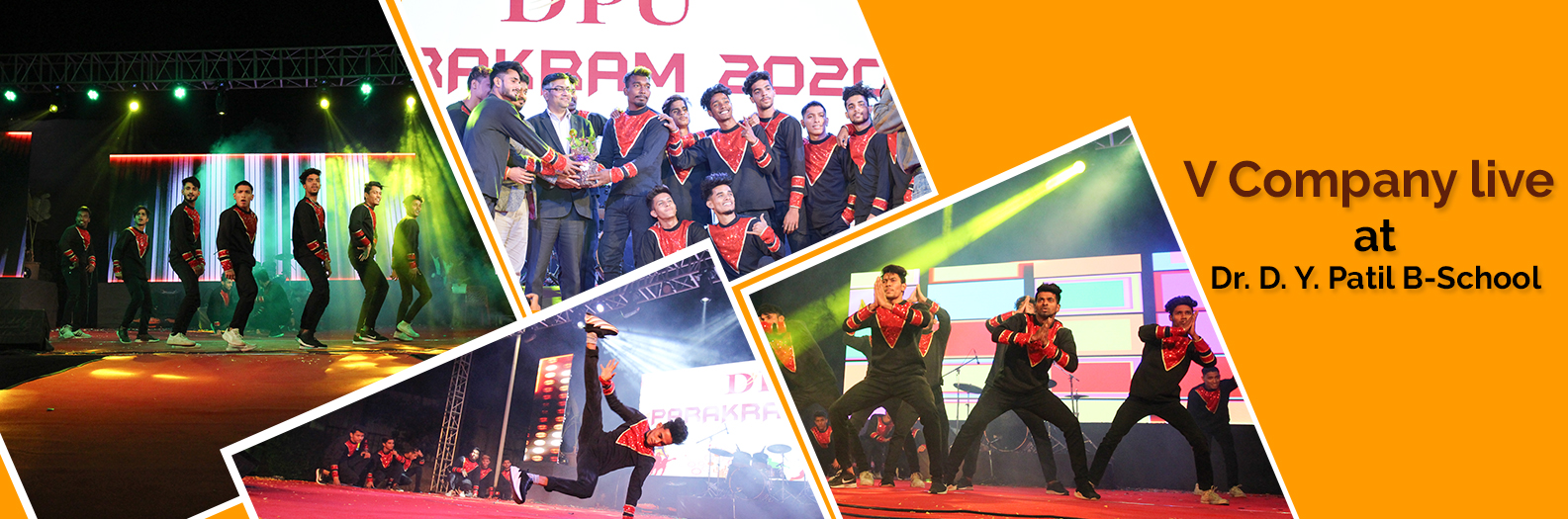 V Company live @ Dr.D.Y.Patil B-School